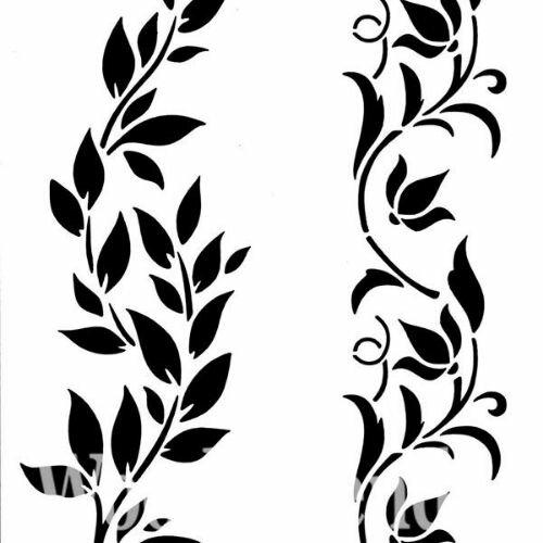 "Stencil ""Hollywood and Vine"" - 21 x 30 cm"