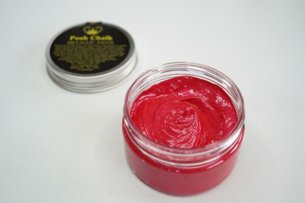 Posh Chalk Smooth Metallic Paste - Red Medium Cadium -