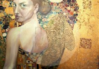 """Mint by Michelle """"Beautiful Woman in Gold"""""""