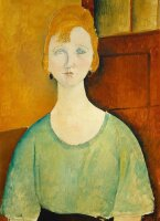 """Mint by Michelle """"Woman In A Green Top"""""""