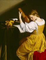 """Mint by Michelle """"Girl With A Lute"""""""