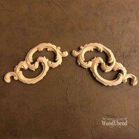 WoodUbend WUB1520 Cojoined Scrolls Set 20 x 8 cm