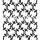 "Stencil ""Mystery Thorns Large"" - 30 x 30 cm"