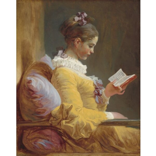Mint by Michelle Reverse Young Girl reading