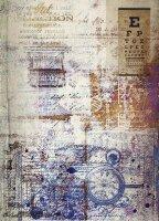 Reispapier A3 für Decoupage