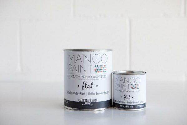 MANGO Paint Table TOP Finish - flat -
