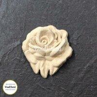 WoodUbend WUB0342 small Rose 3,5  x 3,5 cm