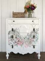 """IOD Paintable Decor Transfers """"Winter´s Song"""""""