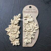 WoodUbend WUB0348 Flower Garland 11,5 x 5,5 cm
