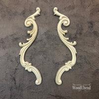WoodUbend WUB1309 Decorative Scrolls Set, 25 x 8 cm