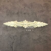 WoodUbend Pediment / Giebel 27,5 x 5,5 cm