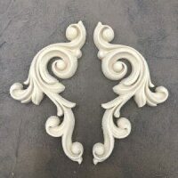WoodUbend Decorative Scrolls Pair - links - rechts 18 x...