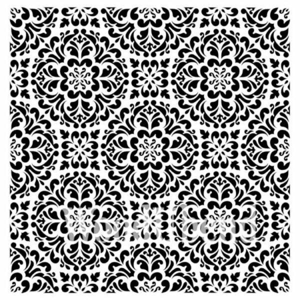 """Stencil """"Kaleidoscope"""" - 50 x 50 cm"""