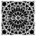 """Stencil """"Stone Rosette"""" - 40 x 40 cm"""