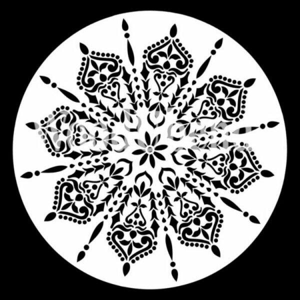 "Stencil ""Spider Mandala"" - 40 x 40 cm"